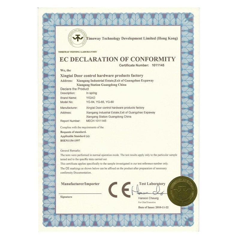 Certificação CE