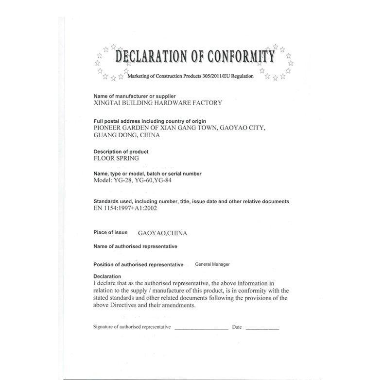 Certificado CE 2